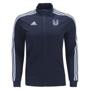 South Suburban Soccer Academy adidas Tiro 19 Training Jacket - Black/White SSSA-DT5272