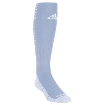 adidas Team Speed II Soccer Sock - Team Light Grey/White 5151517