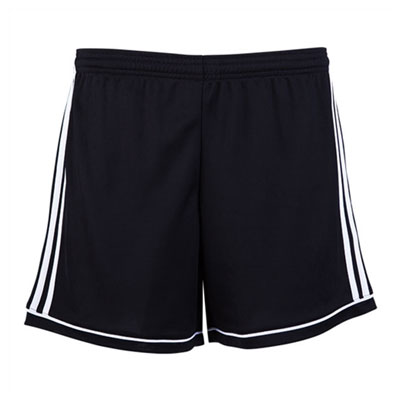 Golden Goal Sports adidas Women's Squadra 17 Shorts - Black/White GGS-BK4778