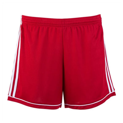 adidas Women's Squadra 17 Shorts - Red/White BK4779