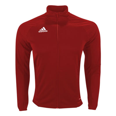 adidas Youth Tiro 17 Training Jacket - Red/White BR2704