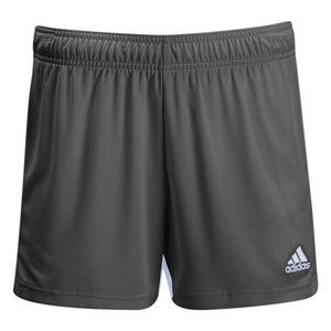 Oldsmar Soccer Club adidas Women's Tastigo 19 Shorts - Dark Grey/White OMSC-DP3168