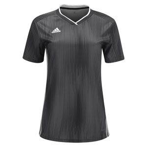 adidas Women's Tiro 19 Jersey - Dark Grey/White DP3187