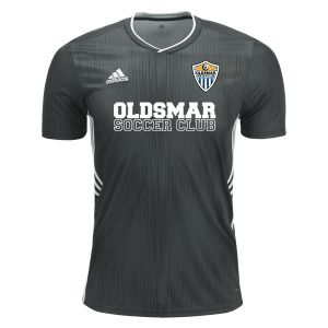 Oldsmar Soccer Club adidas Youth Tiro 19 Jersey - Dark Grey/White OMSC-DP3181