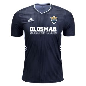 Oldsmar Soccer Club adidas Youth Tiro 19 Jersey - Dark Blue/White OMSC-DP3180