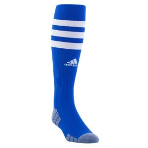 adidas 3 Stripe Hoop Socks - Royal/White 5149468