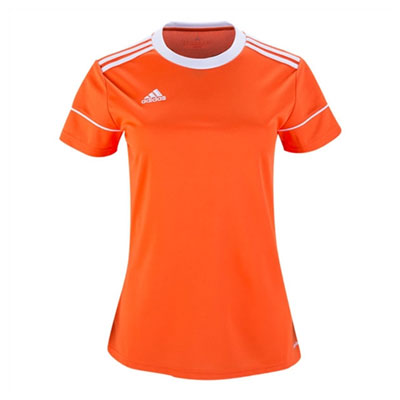 adidas Women's Squadra 17 Jersey - Orange/White BJ9206