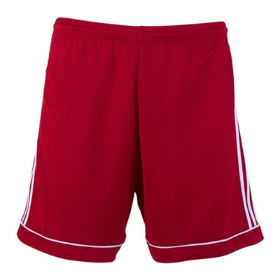 Golden Goal Sports adidas Squadra 17 Shorts - Red/White GGS-BJ9226