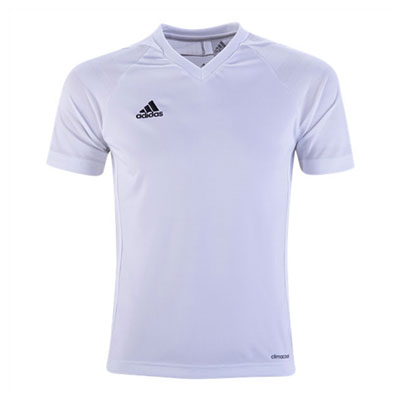 adidas Youth Tiro 17 Jersey - White/White BJ9111