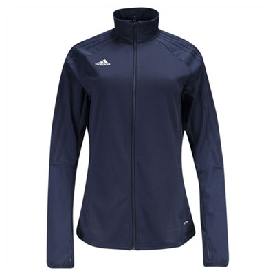 adidas Women's Tiro 17 Training Jacket - Navy Blue BQ8248