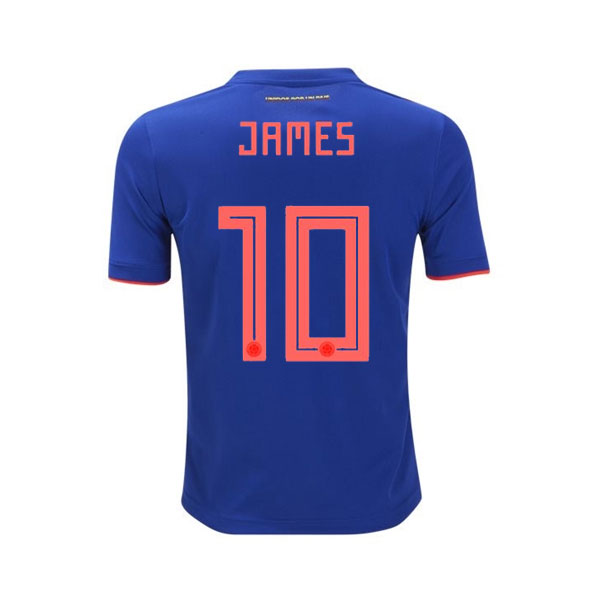 f654c0675 adidas James Colombia Youth Away Jersey 2018 - AuthenticSoccer.com