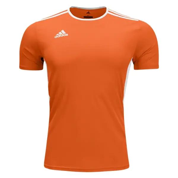 adidas Entrada 18 Jersey - Orange/White CD8366 - AuthenticSoccer.com