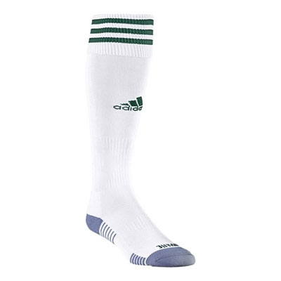 adidas Copa Zone Cushion III Socks - White/Dark Green 5143269