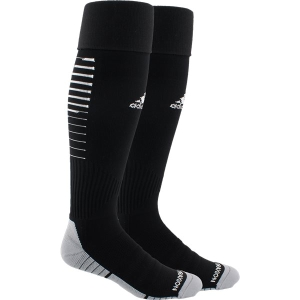 adidas Team Speed II Soccer Sock - Black/White 5145747