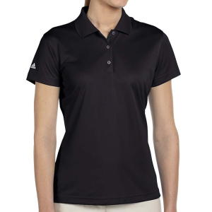 adidas Women's Basic Polo - Black A131