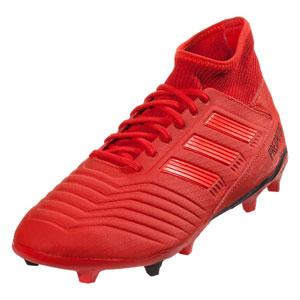 adidas Predators 19.3 FG - Active Red/Solar Red BB9334