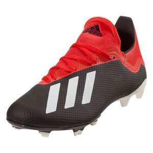 adidas X 18.3 FG - Core Black/Red BB9366