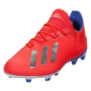 adidas X 18.3 FG - Active Red/Bold Blue BB9367