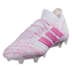 adidas Nemeziz 18.1 FG - Cloud White/Shock Pink BB9427