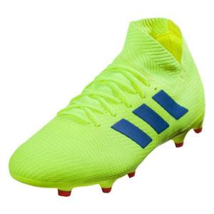 buy popular 605ee 7f114 adidas Nemeziz 18.3 FG - Solar Yellow Football Blue BB9438