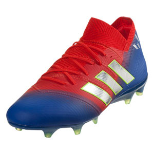adidas Nemeziz Messi 18.1 FG - Active Red/Football Blue BB9444
