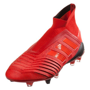 adidas Predator 19+ FG - Active Red/Core Black BC0547