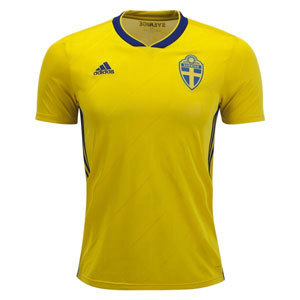 adidas Sweden Home Jersey 2018 BR3838