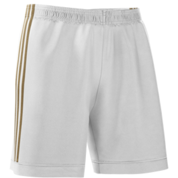 adidas Youth mi Squadra 17 Shorts - White/Gold CF0390-WG