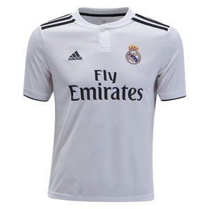 adidas Real Madrid Youth Home Jersey 2018-2019 CG0554
