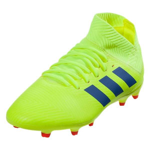 adidas Junior Nemeziz 18.3 FG - Solar Yellow/Football Blue CM8505
