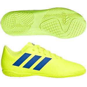 adidas Junior Nemeziz 18.4 IN - Solar Yellow/Football Blue Indoor CM8519