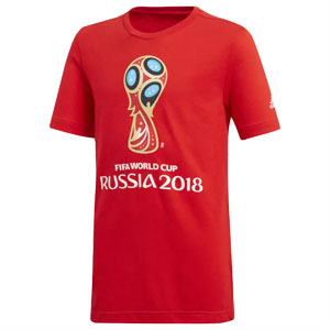 adidas Youth World Cup Emblem Tee 2018 CV6333