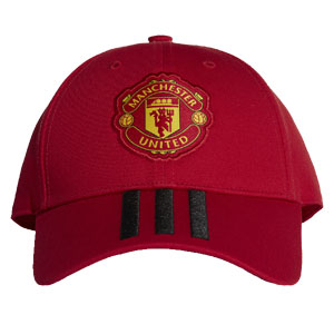 adidas Manchester United 3 Stripe Hat 2018 CY5584 e6193acd57