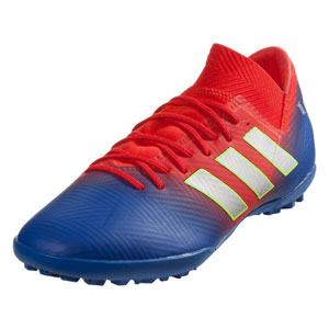 adidas Nemeziz Messi Tango 18.3 Turf - Active Red/Football Blue TF D97267