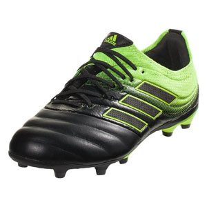 adidas Copa 19.1 Jr FG - Core Black/Solar Yellow D98092
