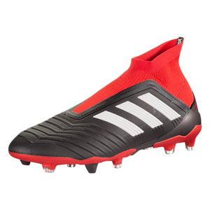 adidas Predator 18+ FG - Core Black/Red DB2012