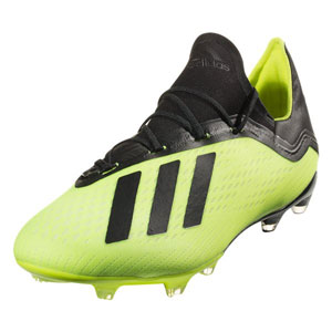 adidas X 18.2 FG - Solar Yellow/Black DB2180