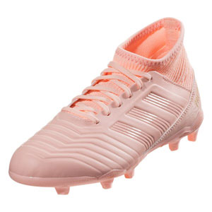 adidas Junior Predators 18.3 FG - Clear Orange/Trace Pink DB2317