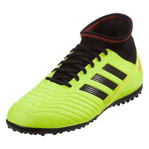 adidas Junior Predator Tango 18.3 TF - Solar Yellow/Core Black Turf DB2328