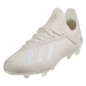 adidas Junior X 18.3 FG - Off White/Cloud White DB2417