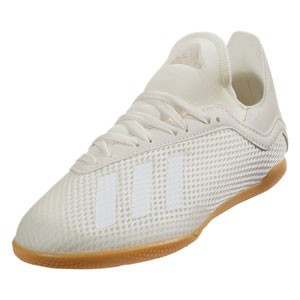 adidas Junior X 18.3 IN - Off White/White Indoor DB2427