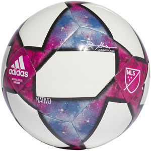 adidas MLS Capitano Soccer Ball - White/Black DN8694