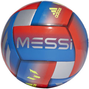 adidas Messi Capitano Soccer Ball - Football Blue/Silver Metallic DN8737