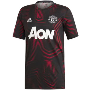 adidas Manchester United Home Pre Match Training Top 2018-2019 DP2285