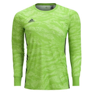 30c1ef6646e adidas adiPro 19 Youth Goalkeeper Jersey - Semi Solar Green DP3143