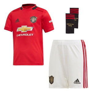 adidas Manchester United Home Mini Kit 2019-2020 DX8950