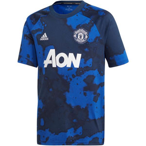 adidas Manchester United Youth Pre Match Jersey 2019-2020 DX9090