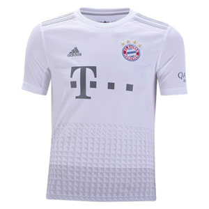 adidas Bayern Munich Youth Away Jersey 2019-2020 DX9264