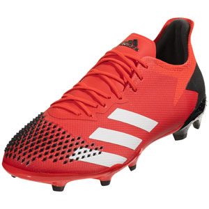 adidas Predator 20.2 FG - Active Red/Cloud White/Core Black EE9553