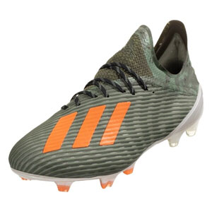 adidas X 19.1 FG - Legacy Green/Solar Orange EF8296